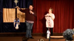 Marionette Nativity, CreativeChurchArtsIdeas.org, Tim Taylor